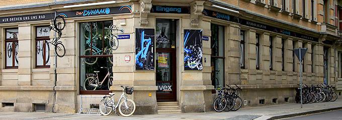 Fahrradladen Dresden - Der Dynamo außen