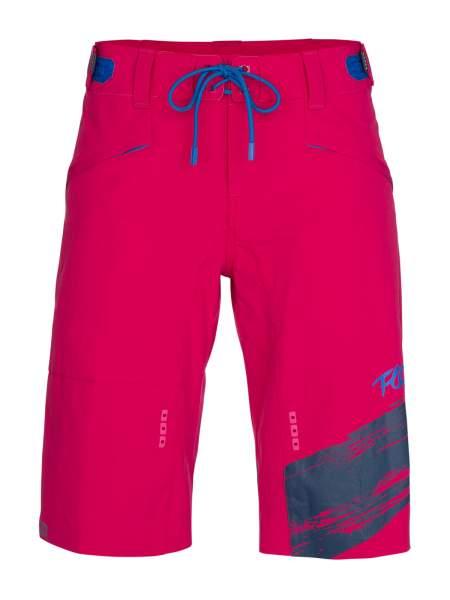 ION Bikeshort Nia Women, cerise pink