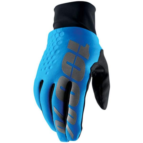 100% Hydromatic Brisker Cold Weather&Waterproof Gloves blue