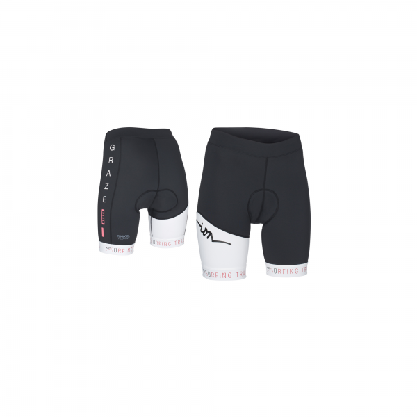 ION Short Lazen Damenhose gepolstert kurz - Black